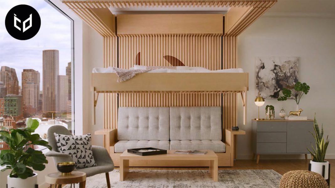 Furniture Fungsional Untuk Mengatasi Masalah Ruangan Kecil